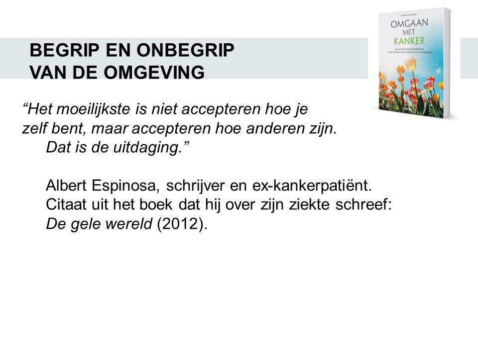 BEGRIP EN ONBEGRIP VAN DE OMGEVING