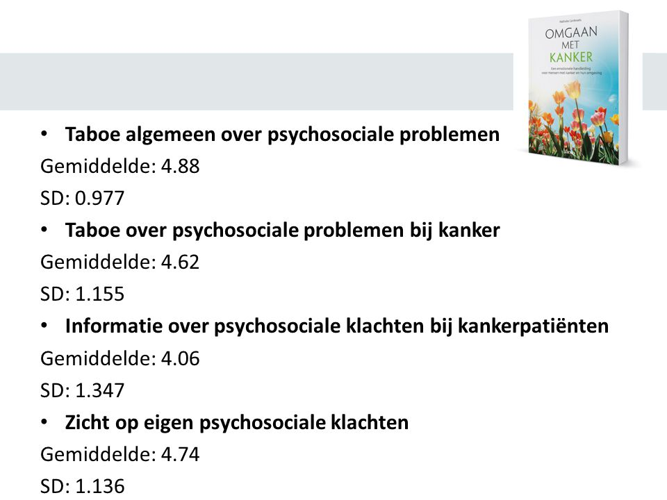 Taboe algemeen over psychosociale problemen