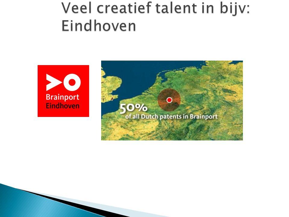 Veel creatief talent in bijv: Eindhoven