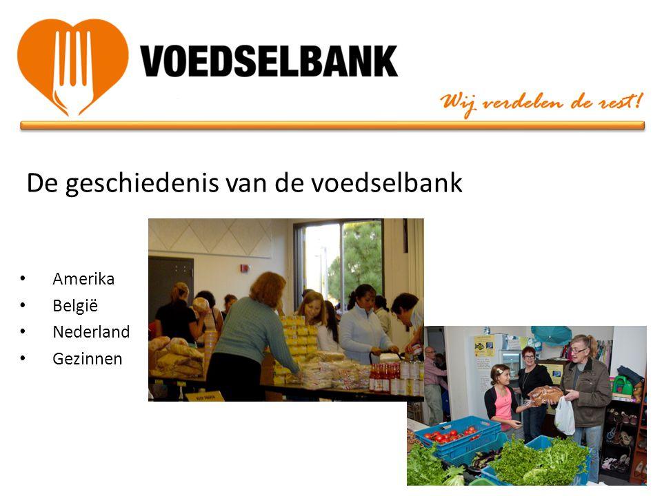 De geschiedenis van de voedselbank