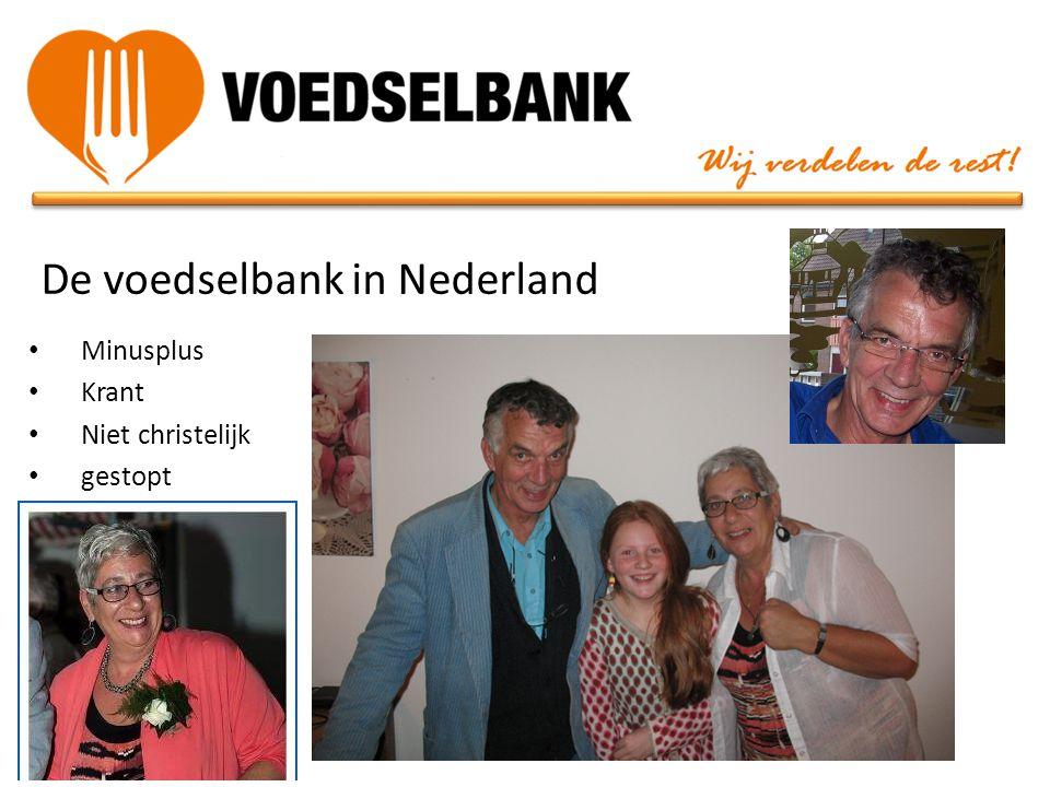 De voedselbank in Nederland