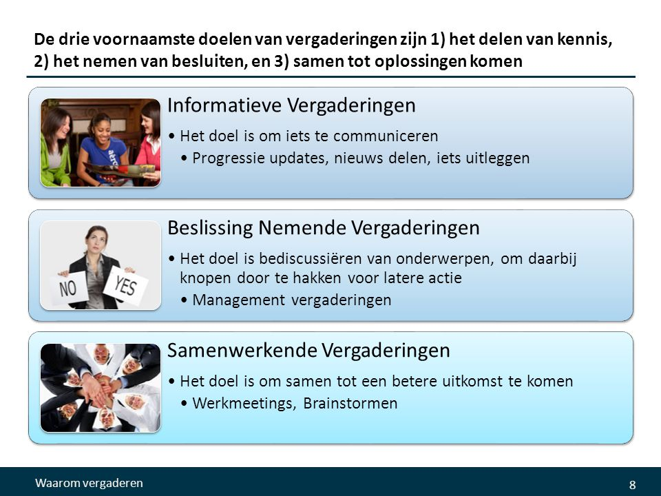 Informatieve Vergaderingen