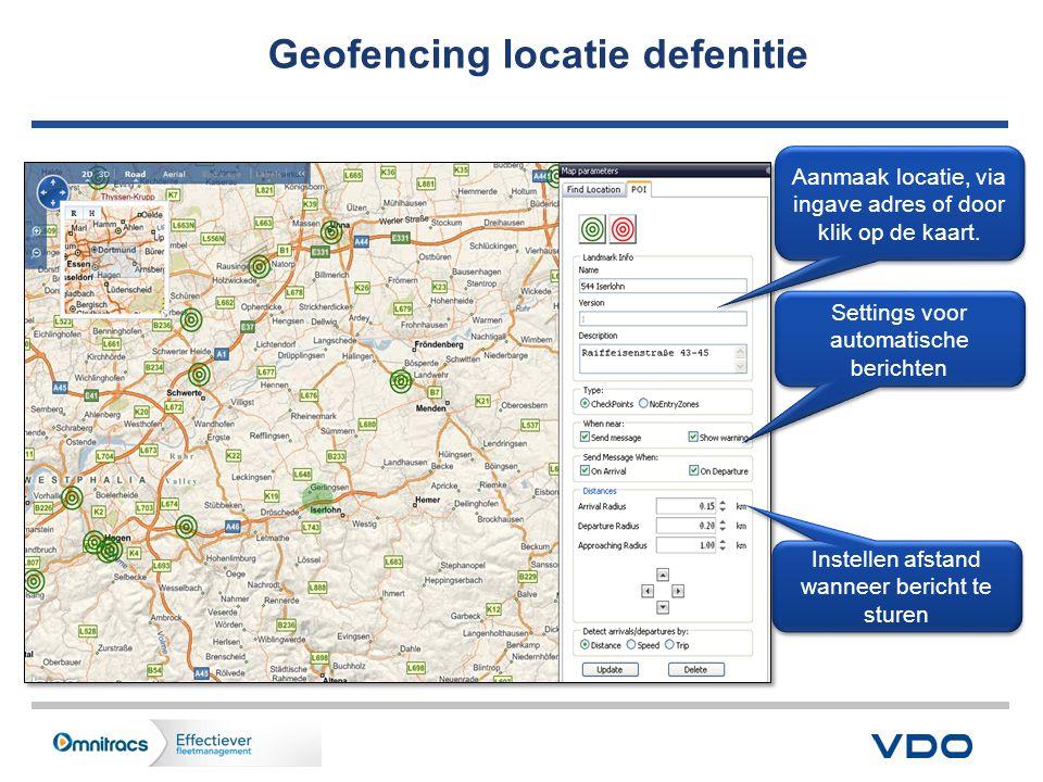 Geofencing locatie defenitie