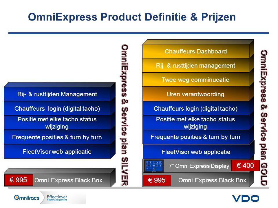 OmniExpress Product Definitie & Prijzen