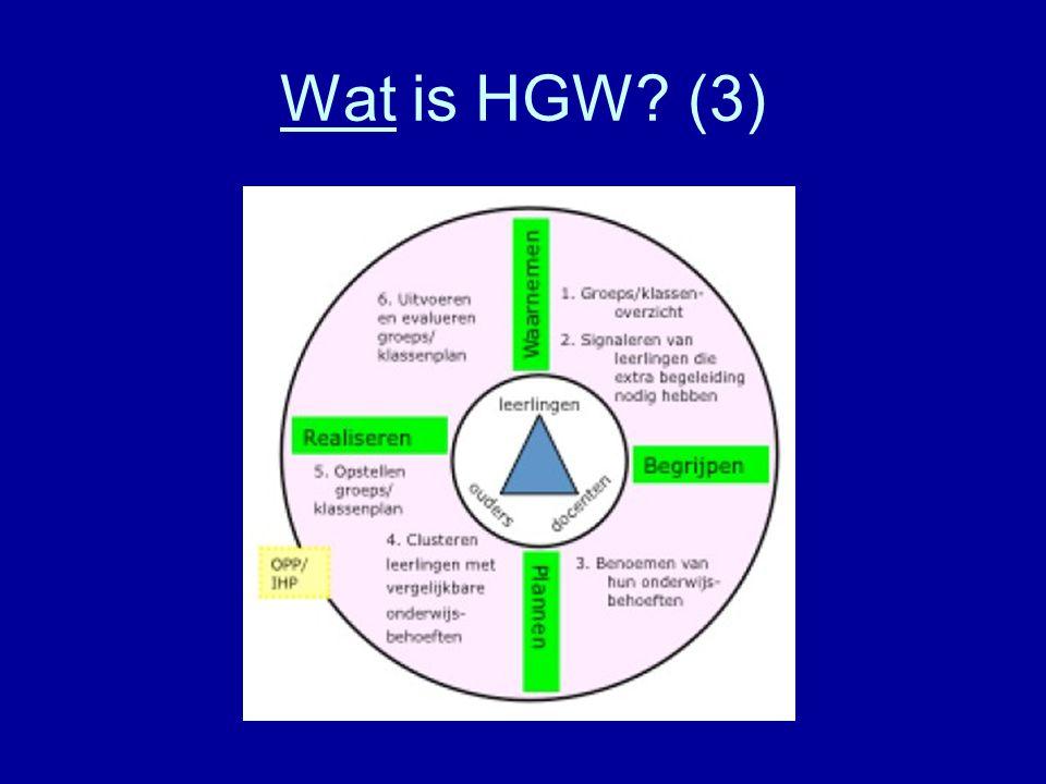 Wat is HGW (3)