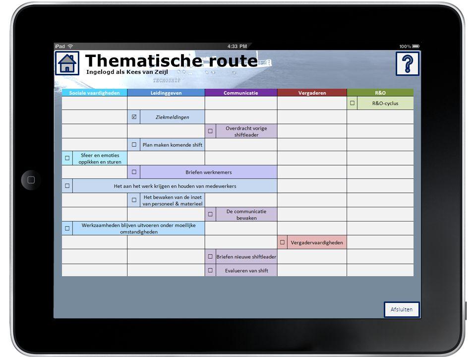 Thematische route