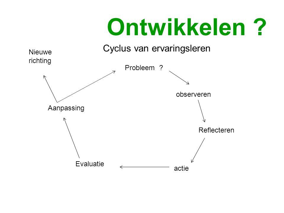Cyclus van ervaringsleren