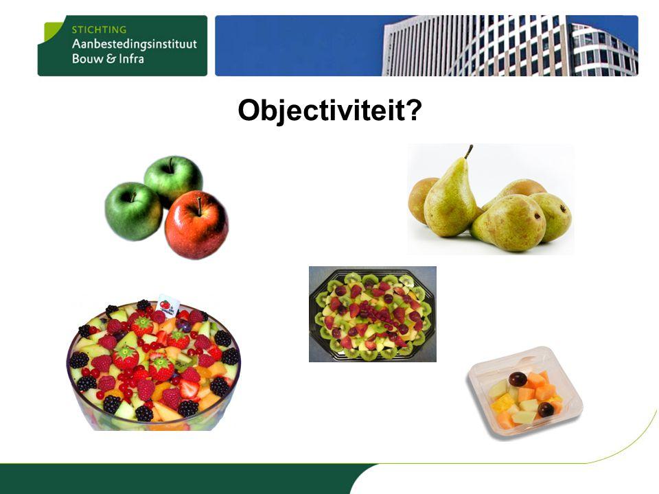 Objectiviteit