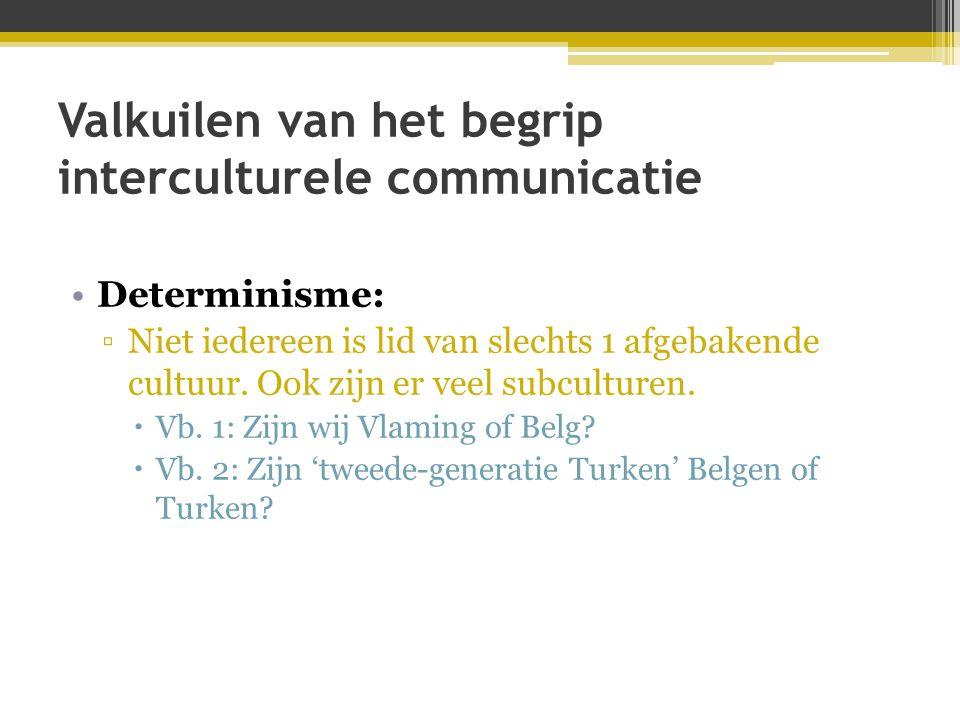 Valkuilen van het begrip interculturele communicatie