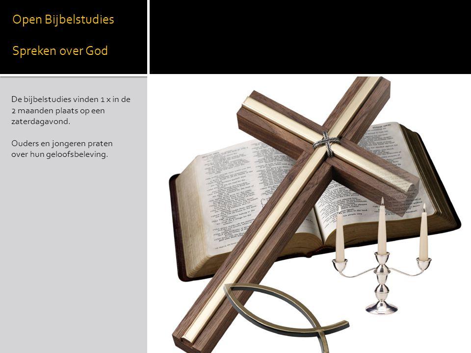 Open Bijbelstudies Spreken over God