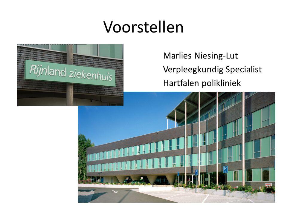 Voorstellen Marlies Niesing-Lut Verpleegkundig Specialist