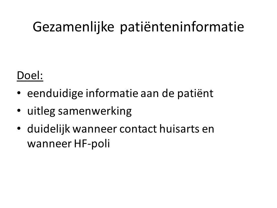 Gezamenlijke patiënteninformatie