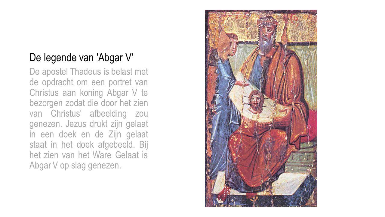 De legende van Abgar V