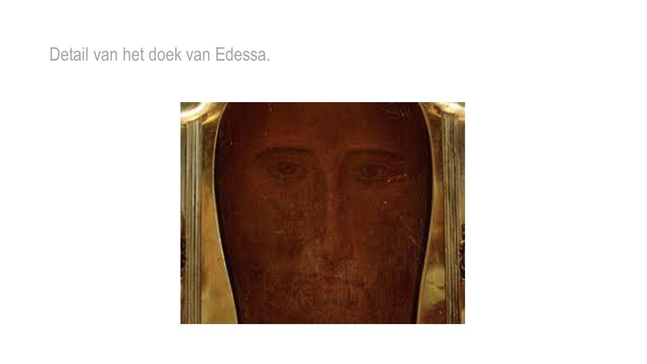 Detail van het doek van Edessa.