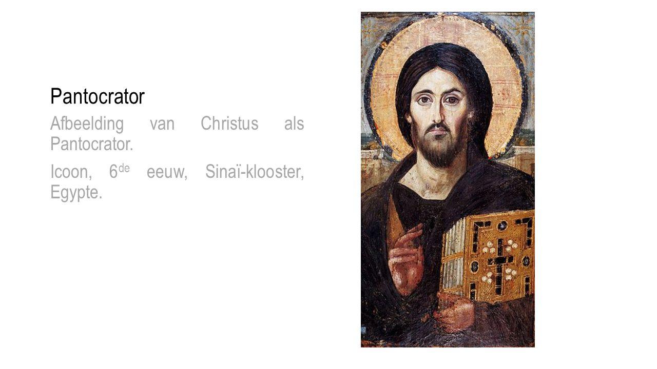 Pantocrator Afbeelding van Christus als Pantocrator.