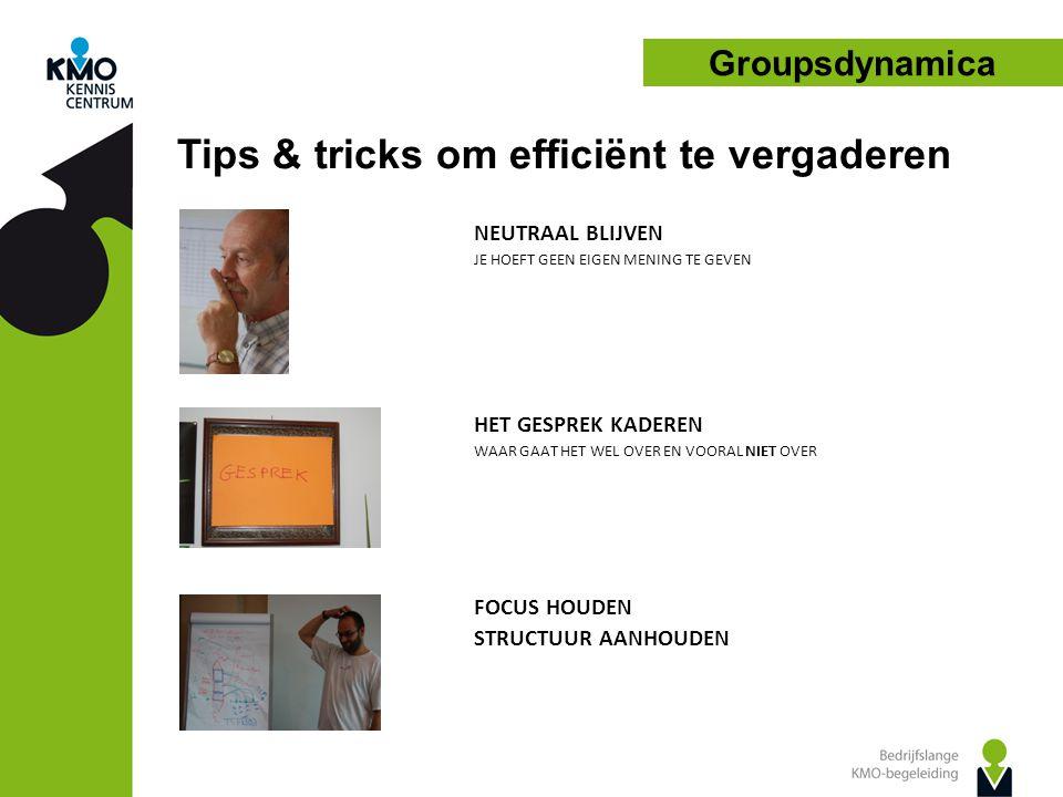 Tips & tricks om efficiënt te vergaderen