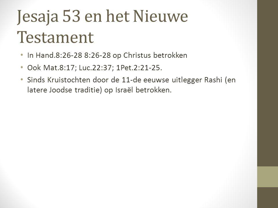 Jesaja 53 en het Nieuwe Testament