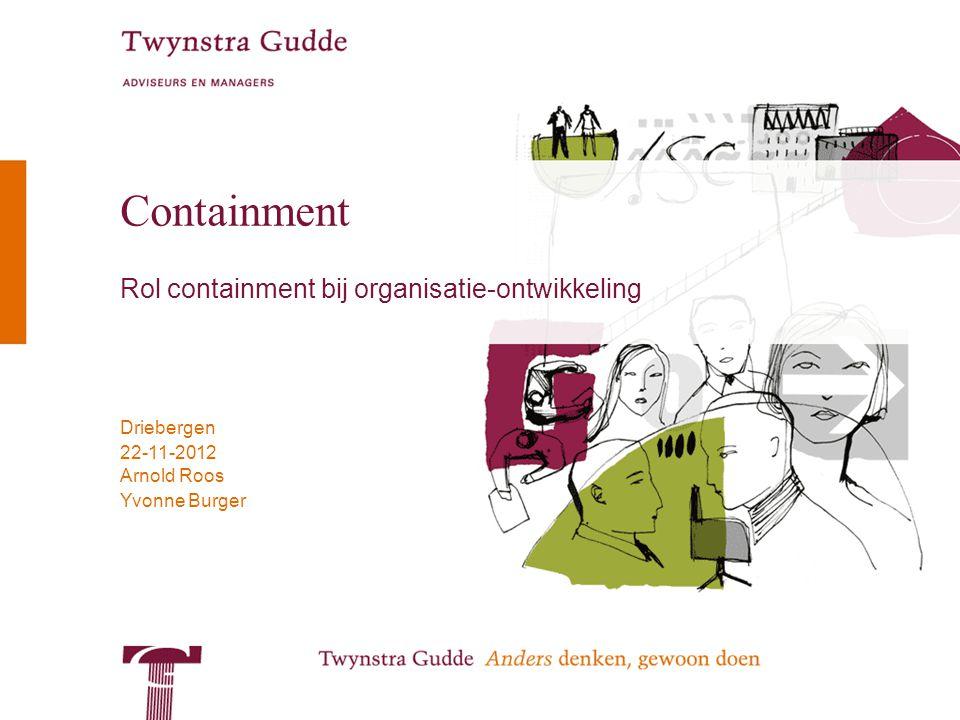 Rol containment bij organisatie-ontwikkeling