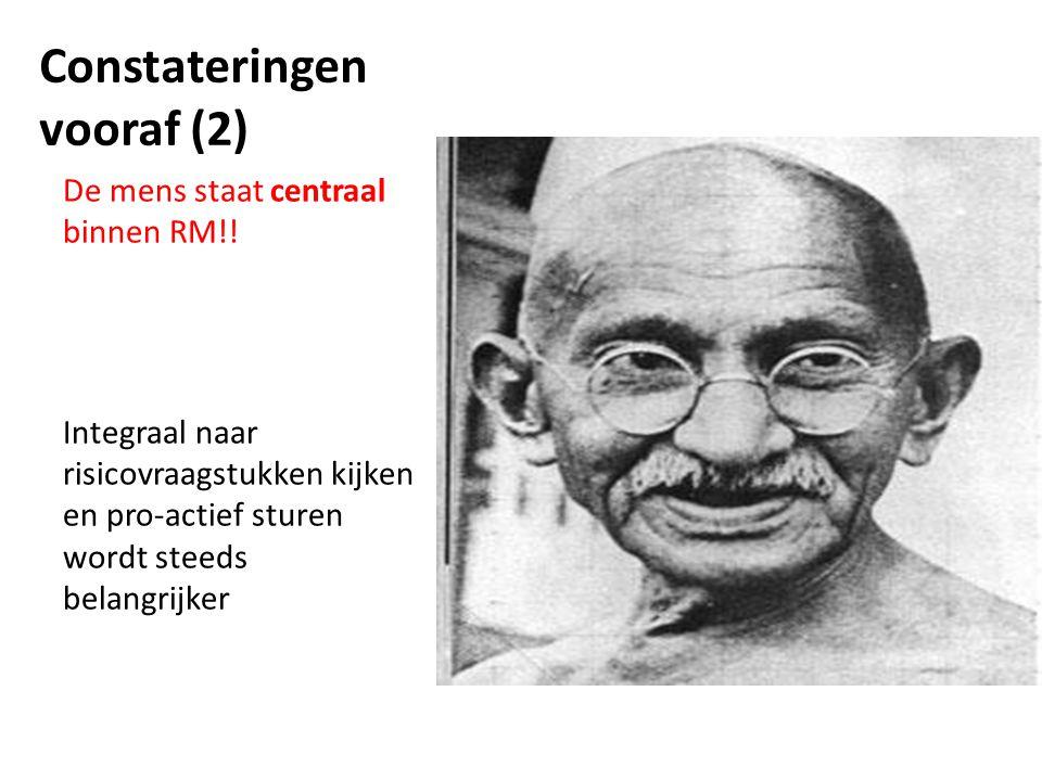 Constateringen vooraf (2)