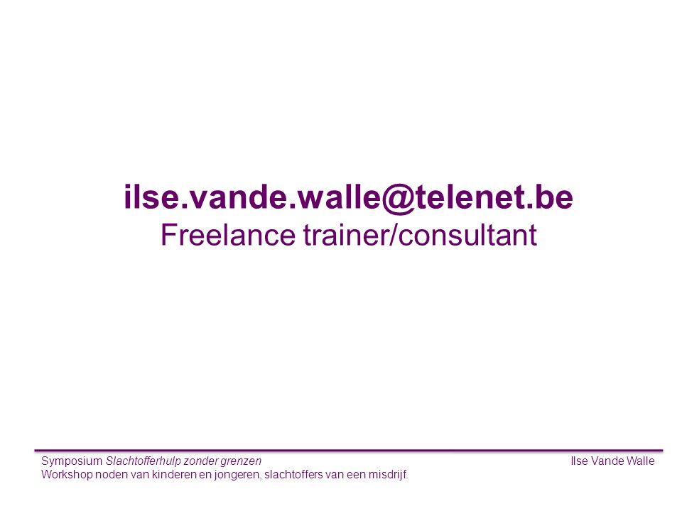 Freelance trainer/consultant