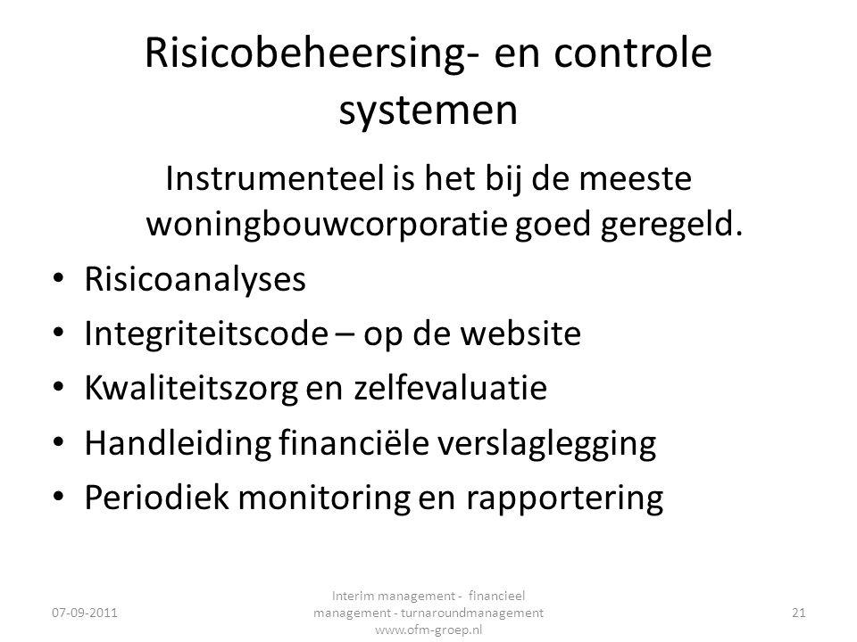 Risicobeheersing- en controle systemen
