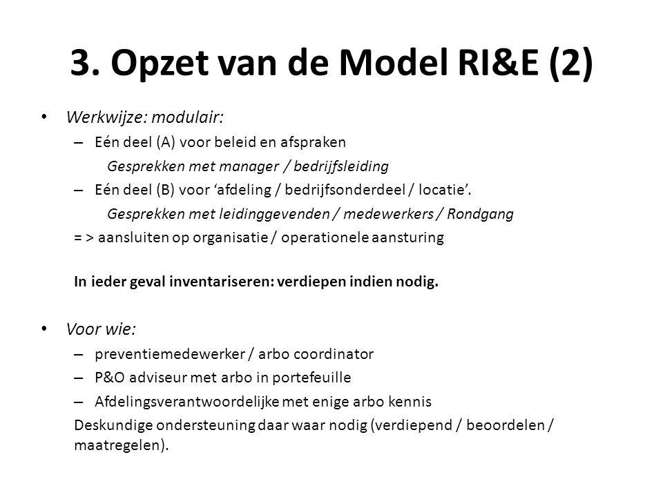 3. Opzet van de Model RI&E (2)