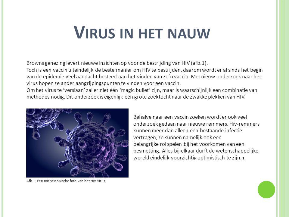 Virus in het nauw