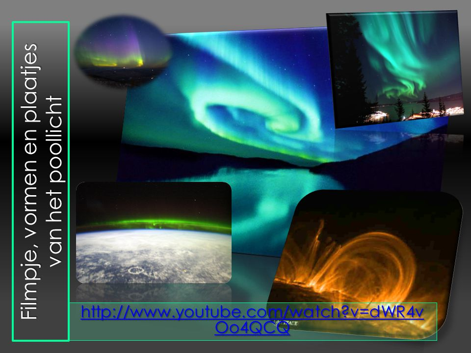 Filmpje, vormen en plaatjes van het poollicht