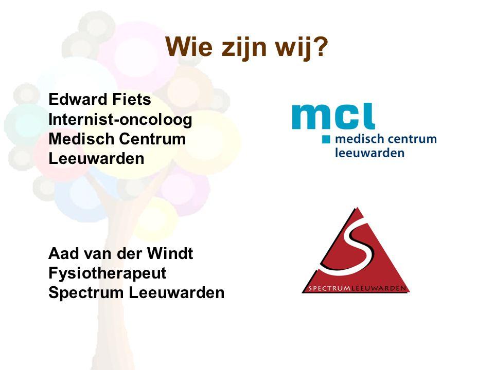 Wie zijn wij. Edward Fiets Internist-oncoloog Medisch Centrum Leeuwarden.