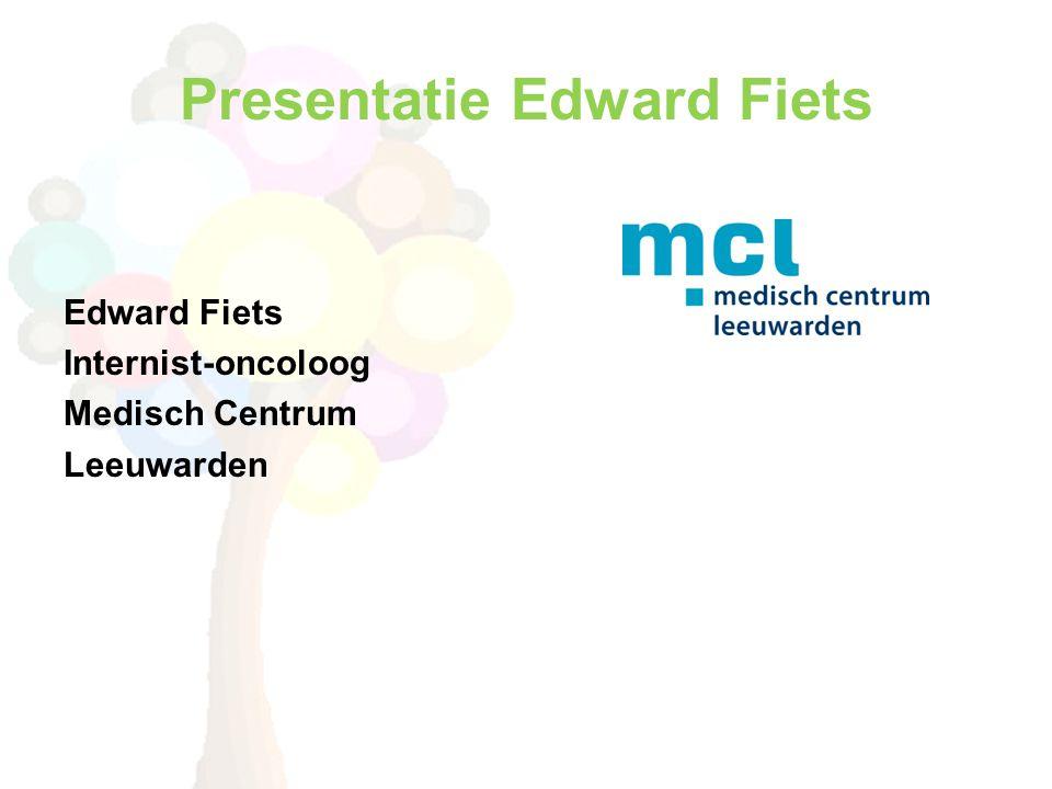 Presentatie Edward Fiets