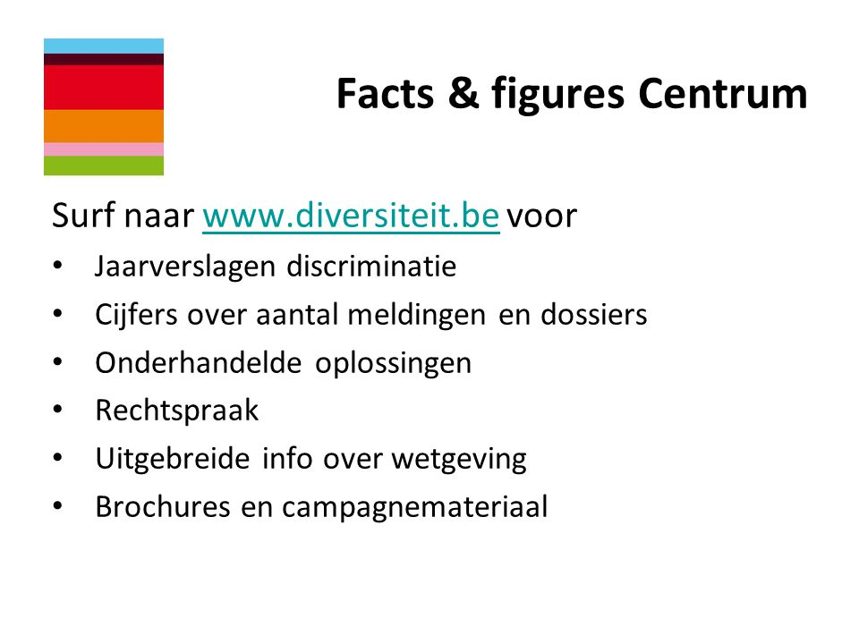 Facts & figures Centrum