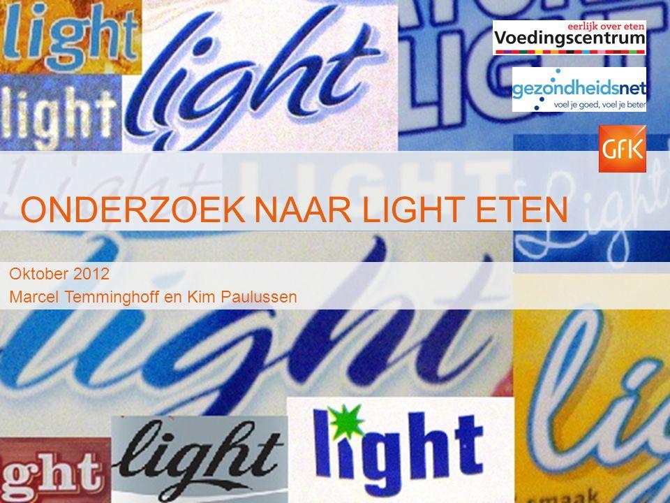 Onderzoek naar Light eten
