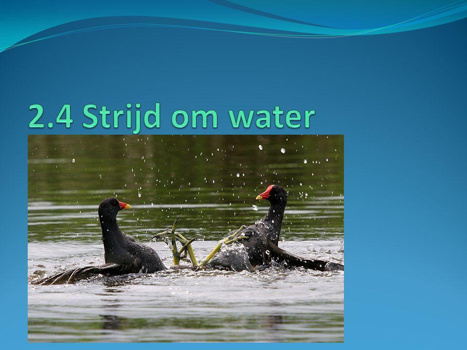 2.4 Strijd om water