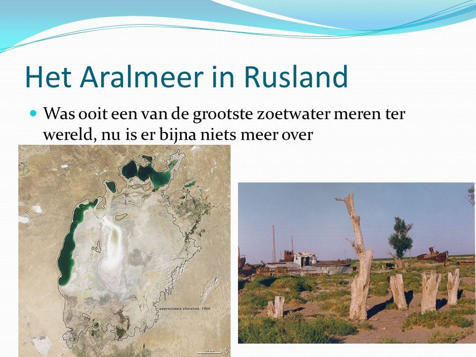 Het Aralmeer in Rusland