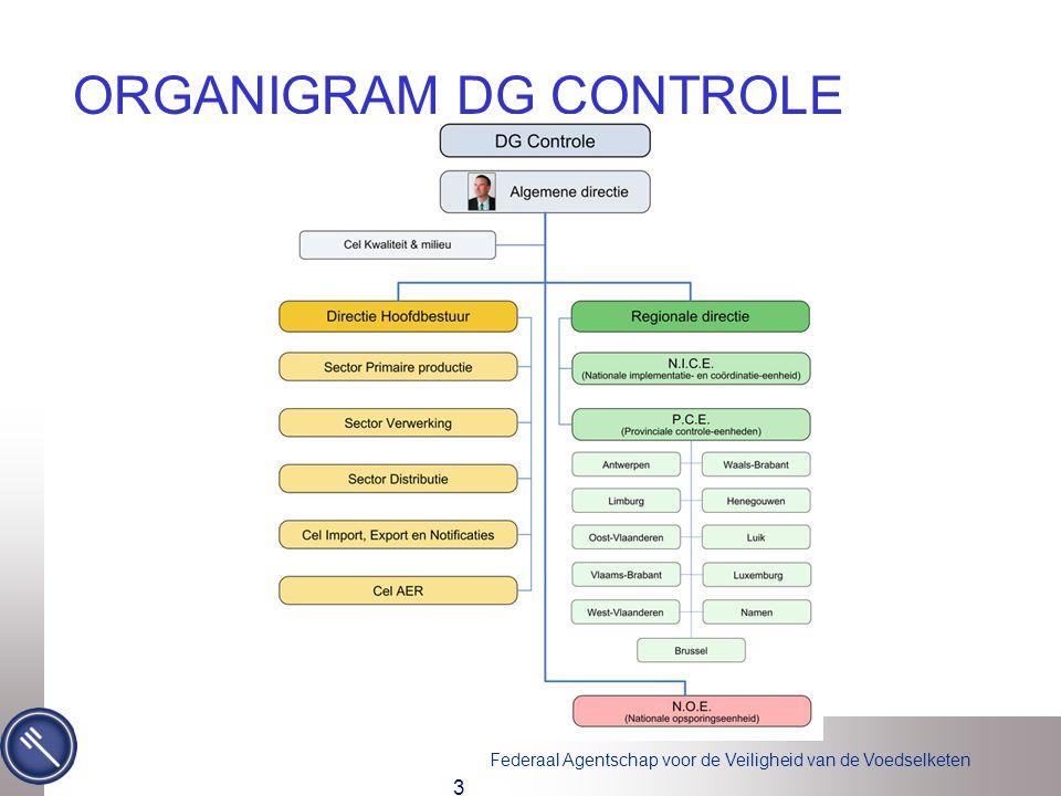 ORGANIGRAM DG CONTROLE