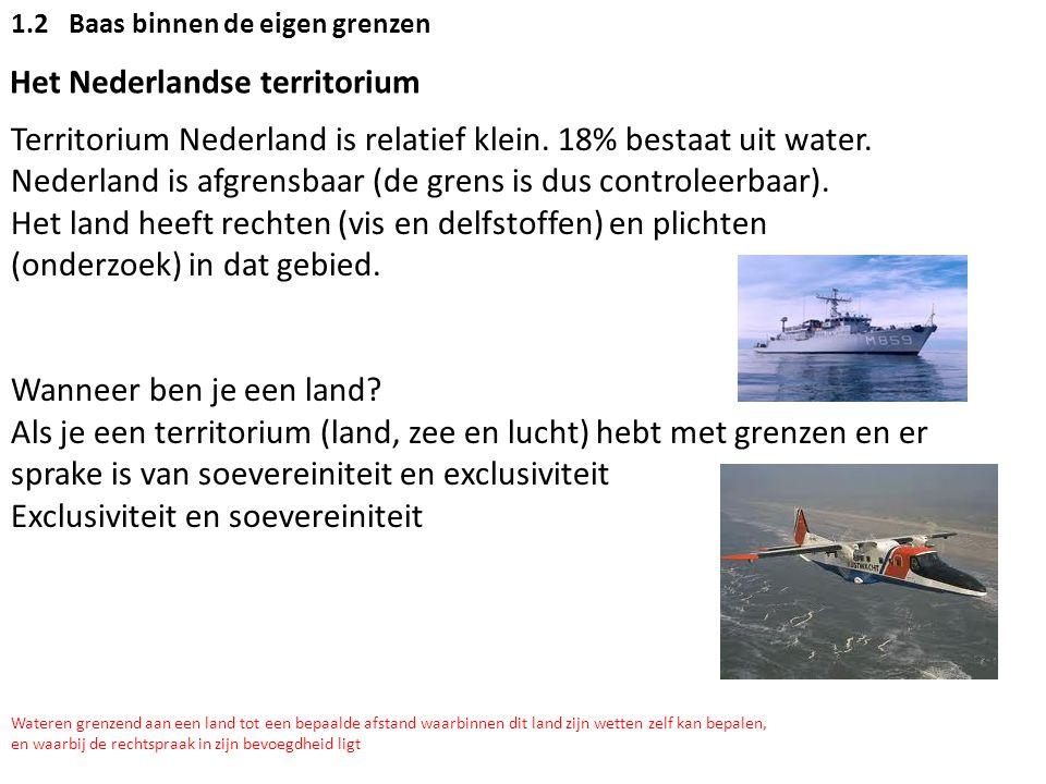 Het Nederlandse territorium
