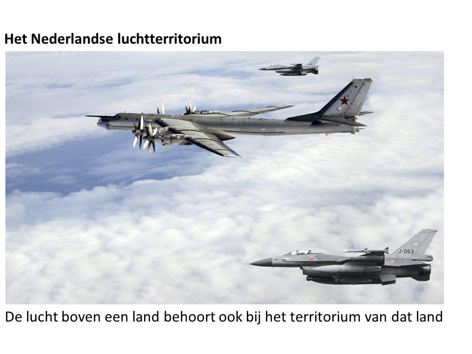 Het Nederlandse luchtterritorium