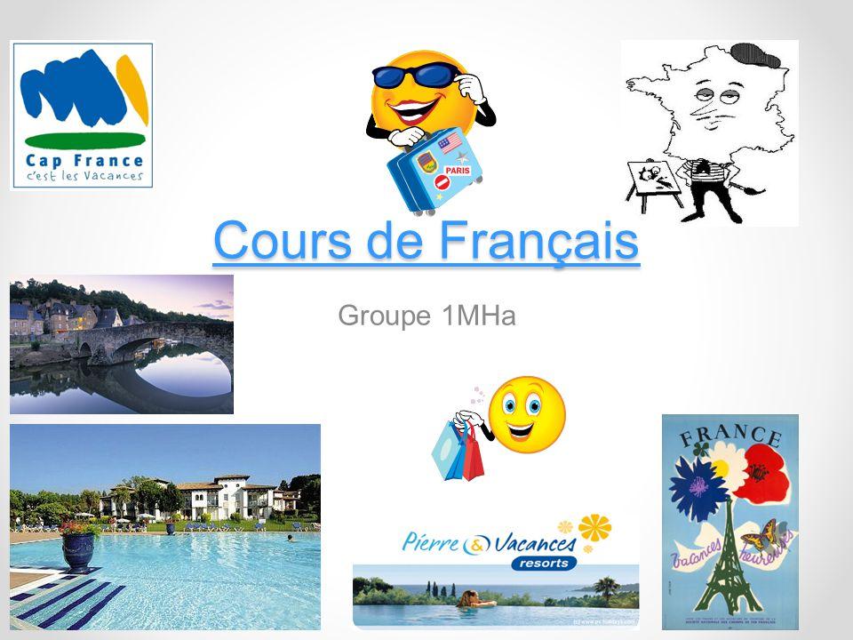 Cours de Français Groupe 1MHa