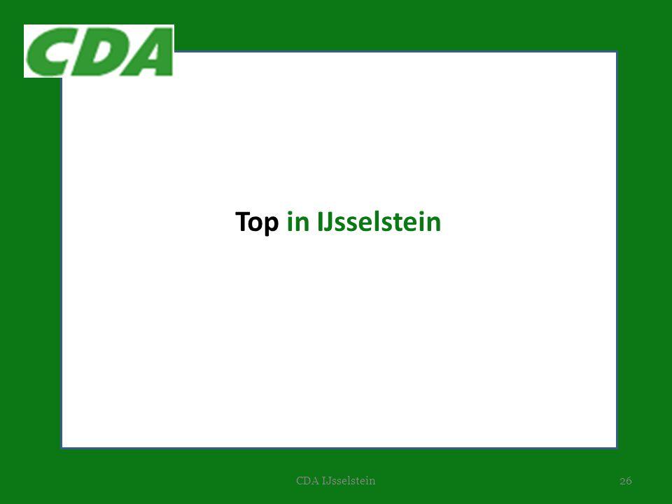 Top in IJsselstein CDA IJsselstein