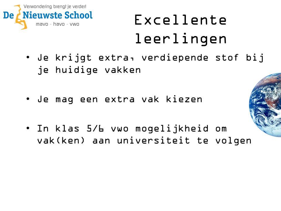 Excellente leerlingen