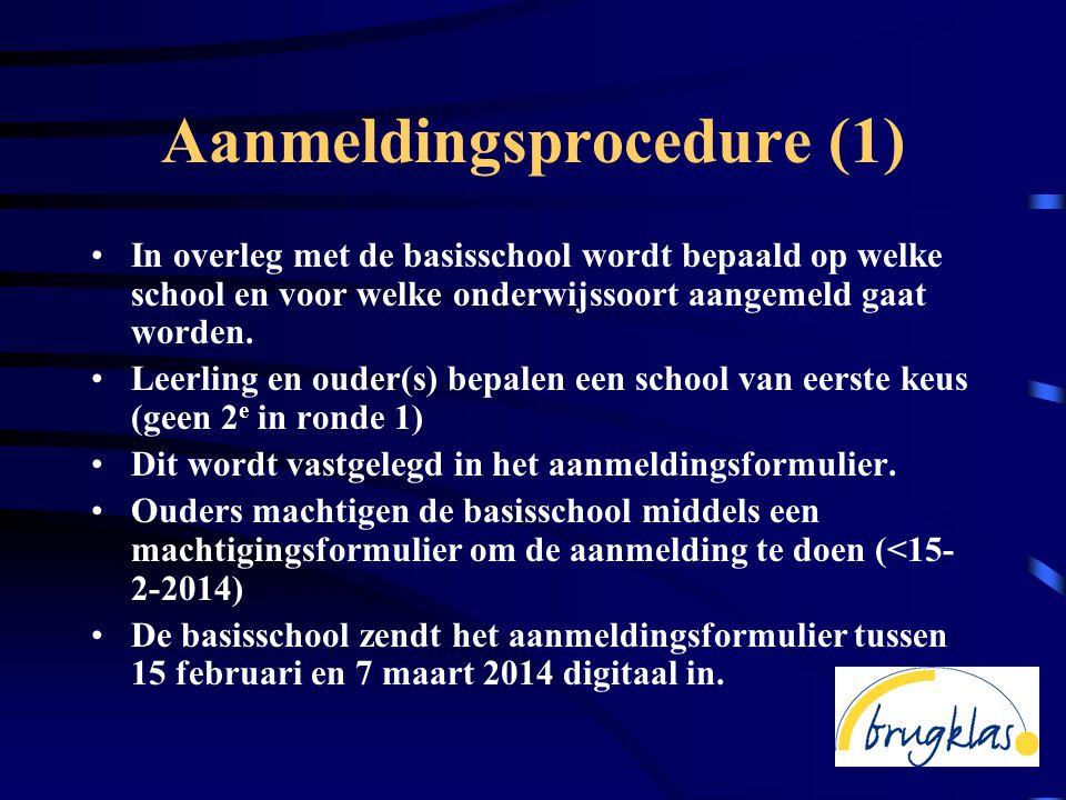 Aanmeldingsprocedure (1)
