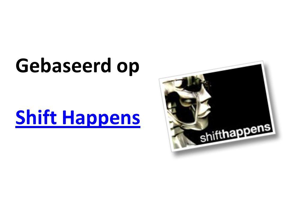 Gebaseerd op Shift Happens