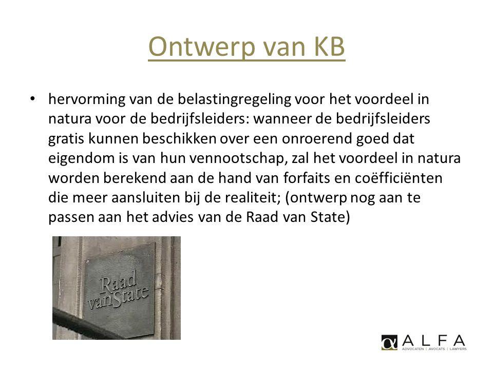 Ontwerp van KB