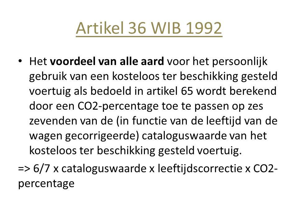 Artikel 36 WIB 1992