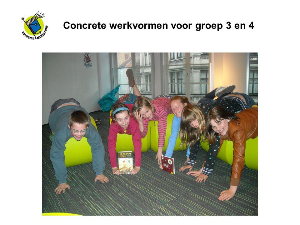 Concrete werkvormen voor groep 3 en 4