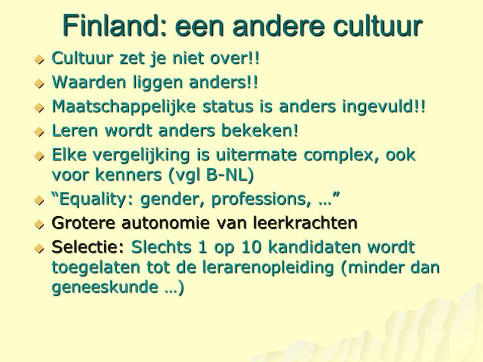 Finland: een andere cultuur