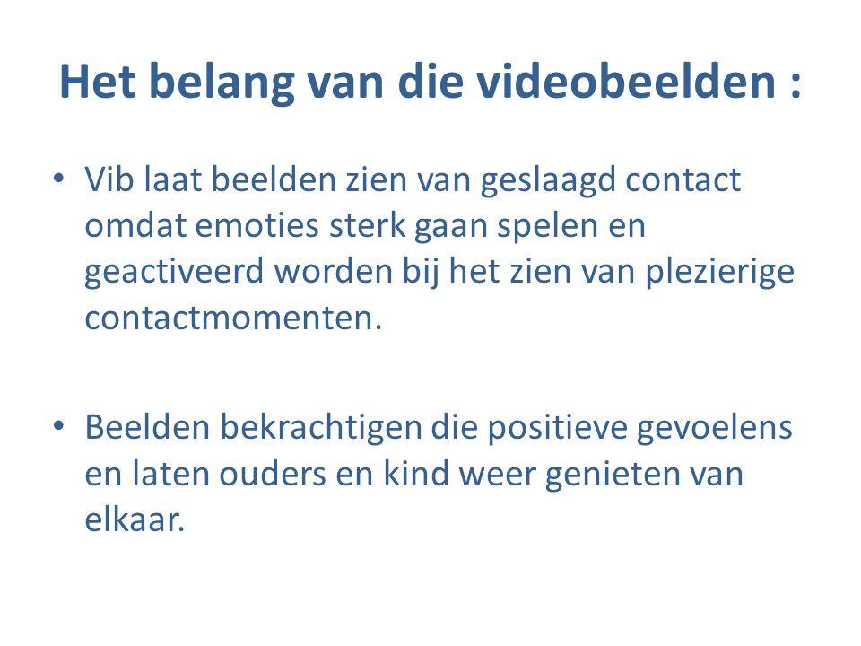 Het belang van die videobeelden :