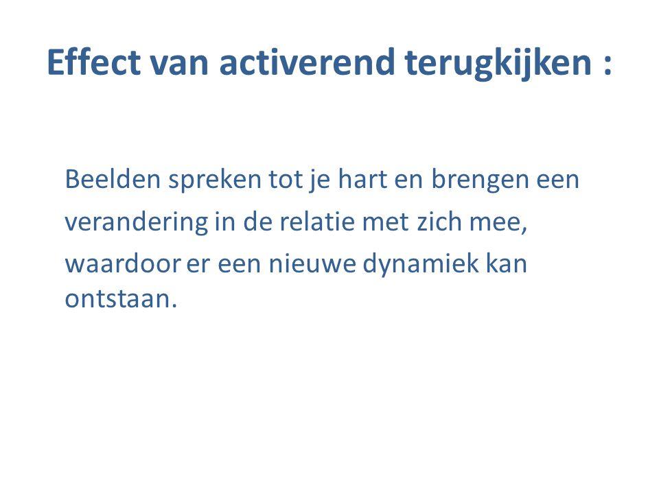 Effect van activerend terugkijken :