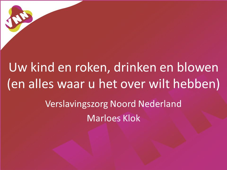 Verslavingszorg Noord Nederland Marloes Klok