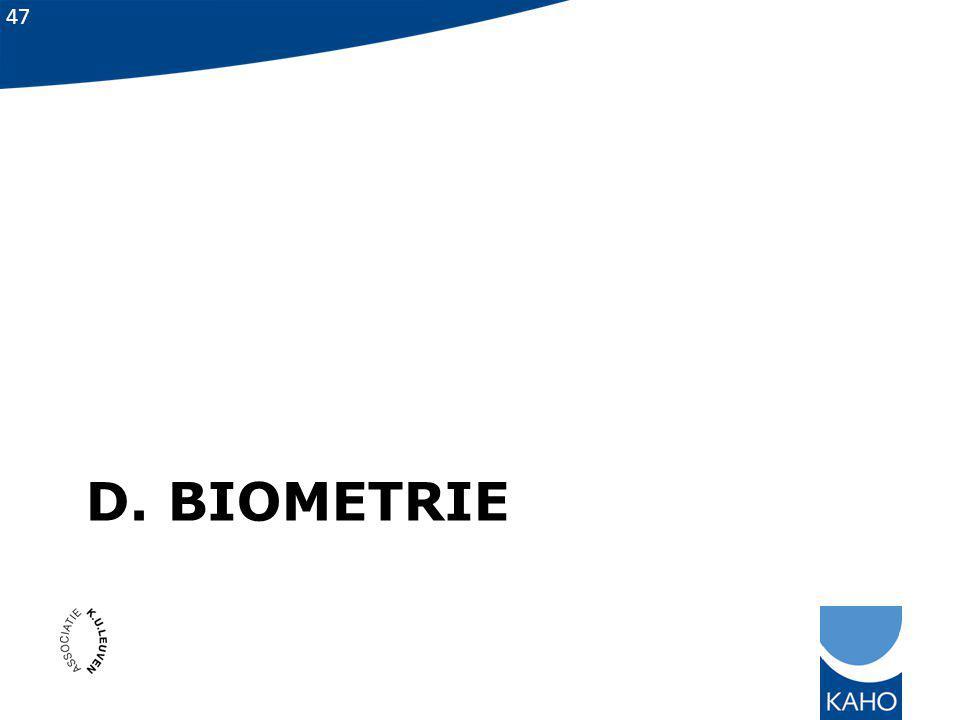 D. biometrie